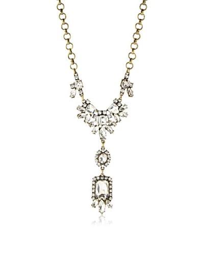 Leslie Danzis Crystal Vintage Pendant Necklace