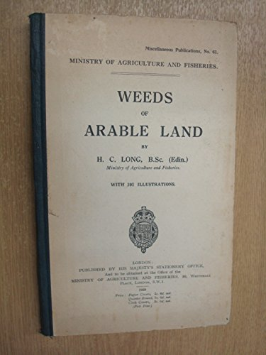 Weeds of Arable Land PDF