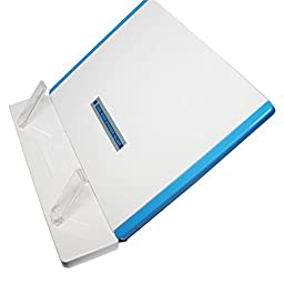 CARL Foldable Reading Stand Book, document Holder - Blue Color - 1 Pcs