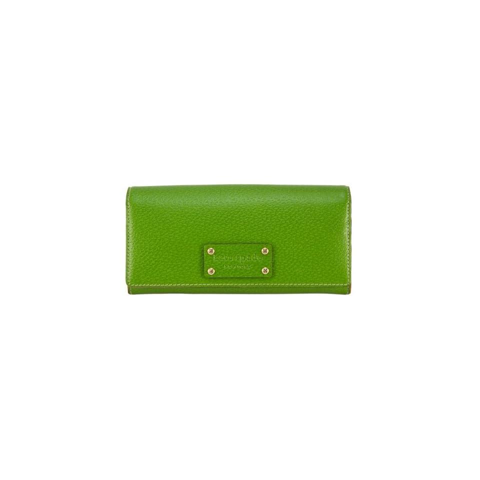 Kate Spade Wellesley Remy Leather Envelope Wallet, KS Green