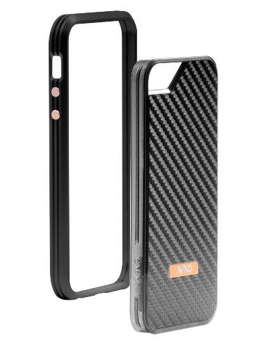 Special Sale Avivo Rail Carbonate / Apple iPhone 5 & 5S Polycarbonate Rail Carbon Case (Stealth Black + Black Carbon Jacket)