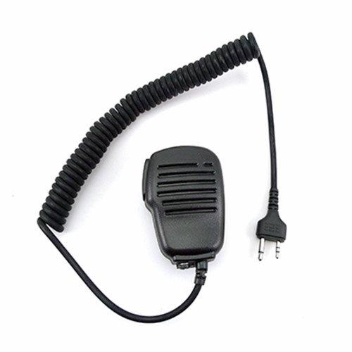 Mikrofon und Lautsprecher Mobilteil mit PTT für 2-pin MIDLAND Funkgerät LXT210 LXT216 LXT303 LXT305 LXT310 LXT350 LXT410 LXT420 LXT435 G225 G227 G300 GXT250 GXT325 GXT310 GXT400 GXT450 GXT500 GXT550 GXT565 GXT600 GXT650 usw.