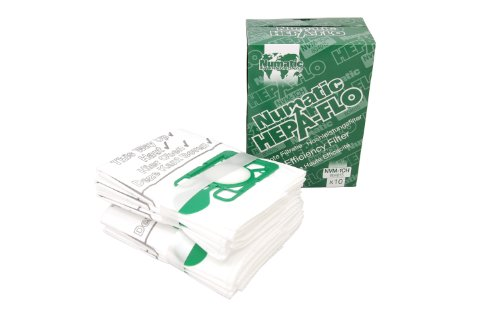 Numatic NVM-1CH Numatic Henry and James Cleaner Bags, Pack of 10 (Numatic Vacuum Bags compare prices)