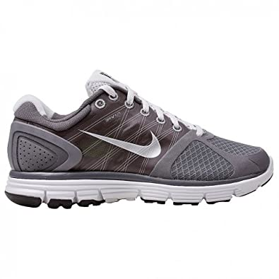 Nike Lunarglide+ 2 Womens Running Shoe Dark Grey/metallic Silver-flint Platinum Womens Shoes 407647-013 Sz 6
