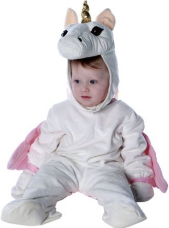Toddler Girls Classic Unicorn Costume (X-Large)