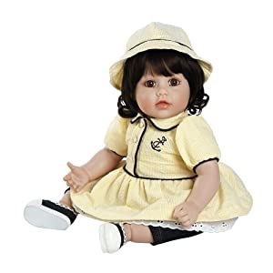 """Adora Anchor's Away Dark Brown Hair with Brown Eyes 20"""" Baby Doll"""