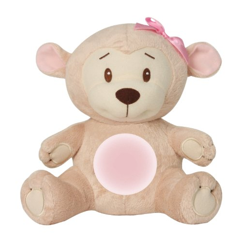 Summer Infant Lullaby Monkey Soother, Girl (Discontinued by Manufacturer) - 1
