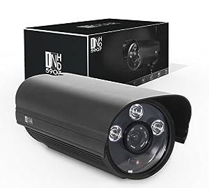 Instar WLAN IP-Kamera für Außenbereich, IN-5907HD (WDR-Bildsensor, 1 Megapixel, 3x High Power IR LEDs, 13 Watt) schwarz