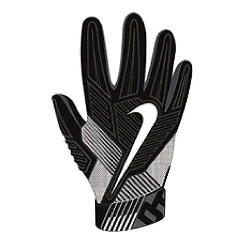 Nike Mens D-Tack 5 Padded Football Gloves Black/White GF0385 010 Size Large (White Nike Football Gloves compare prices)