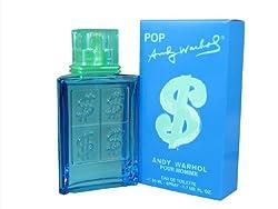 Andy Warhol Pop Pour Homme Eau De Toilette Spray, 1.7 Ounce