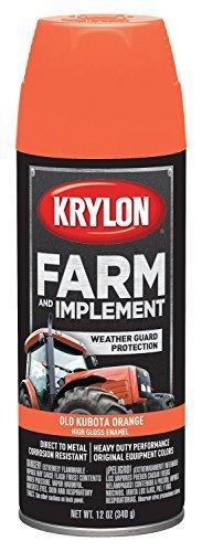 krylon-k01821000-kubota-orange-farm-paint-12-oz-by-rust-oleum
