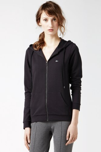 Long Sleeve Zip Front Hooded Sweatshirt
