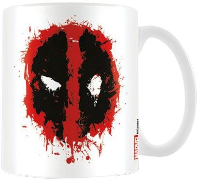 Deadpool Splat-Tazza in ceramica, multicolore