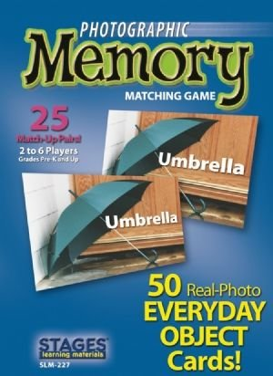 Photographic Memory: Everyday Objects - Buy Photographic Memory: Everyday Objects - Purchase Photographic Memory: Everyday Objects (Stages Learning Materials, Toys & Games,Categories,Games,Card Games,Flash Cards)