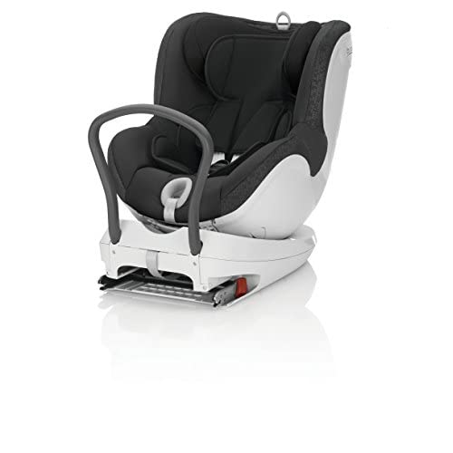 Britax Dualfix ISOFIX Rearward Forward Facing Car Seat Group 0+ 1 from Birth - 4 years (Black Thunder)