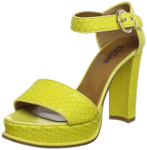 Pollini Womens California Plateau multi-coloured Mehrfarbig (mimosa/gesso 40A) Size: 4 (37 EU)