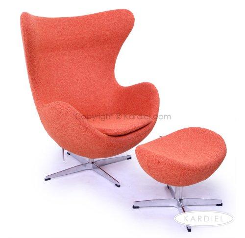 Cheap egg chair cheap egg chair amp ottoman cinnabar houndstooth