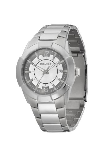 Police Sincere Silver dial Watch 12547JS/61M