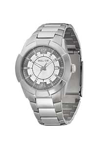 Police Analog Silver Dial Men's Watch PL12547JS/61M