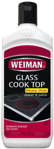 Weiman Glass Cook Top Cleaner, 10-Ounce Bottles (Pack of 6)