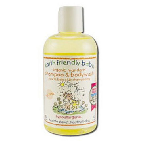 Earth Friendly Organic Shampoo and Bodywash in Mandarin Orange