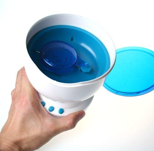 Ocean Daren Waves Night Light Projector Speaker front-879206