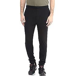 Ajile by Pantaloons Mens Regular Fit Track Pant Black M