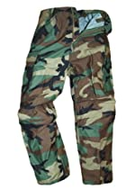 G.I. Gore-tex Woodland Camouflage Cold Weather Pants - Medium-Regular