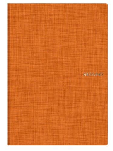 Fabriano EcoQua - Papel de cuaderno, 40 hojas, 5 mm, paquete de 5
