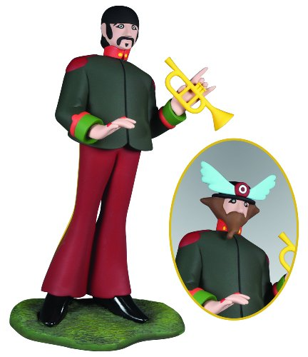 Round The Beatles Yellow Submarine Ringo Starr Model Kit - 1