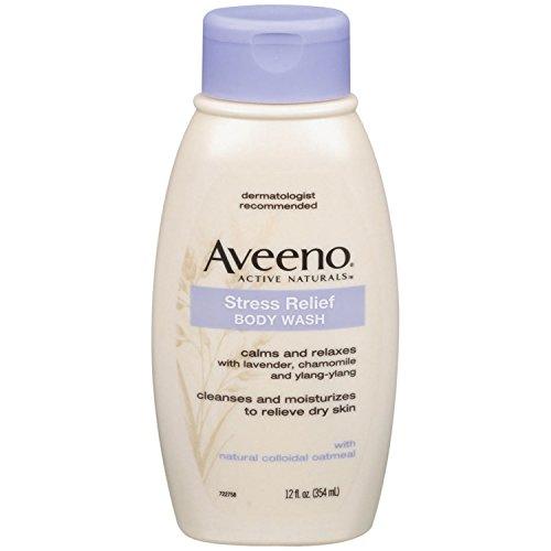 Aveeno 舒缓压力 草本保湿沐浴露 354ml*3瓶图片