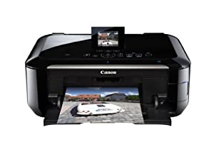 Canon 5292B002 Pixma MG6220 Wireless Inkjet Photo All-In-One Printer/Scanner (Black)