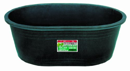Tuff stuff products kmt85 oval tub 85 gallon shopping Plastic pond tubs