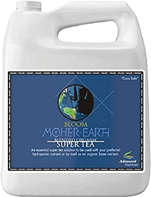Advanced Nutrients Mother Earth Tea Bloom Organic Fertilizer, 4-Liter