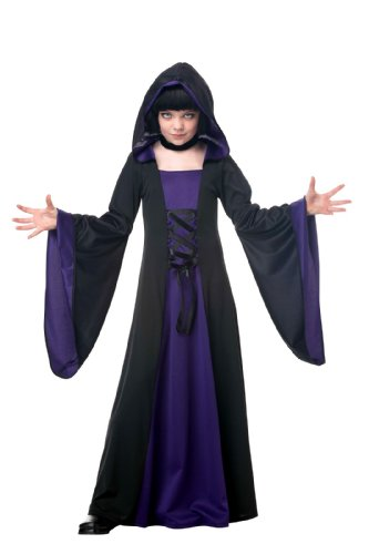 California Costumes 00382 Hooded Robe Child Costume, Large