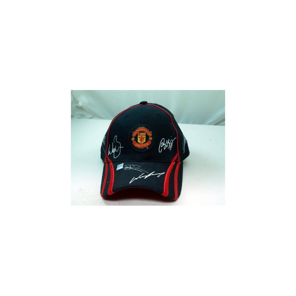 FC MANCHESTER UNITED OFFICIAL TEAM LOGO CAP / HAT   MU010