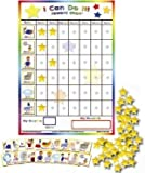 """Kenson Kids - """"I Can Do It"""" Reward and Responsibility Chart Made in the USA. 11"""" X 15.5"""""""