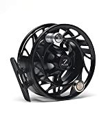 New Hatch 4 Plus Finatic Fly Fishing Reel Black/silver