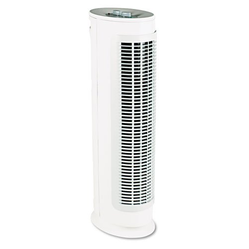 Holmes Products - Holmes - Harmony Carbon Filter Air Purifier, 168 sq ft Room Capacity - Sold As 1 Each - 99% HEPATM filter helps remove airborne particles and allergens. - Carbon filtration reduces unpleasant odors. - Microban antimicrobial product protection. - Electronic ionizer increases performance. - Quiet operation.