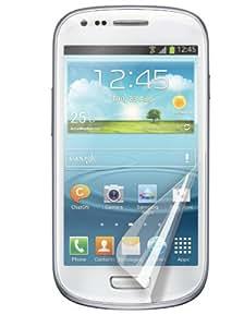 Muvit MUSCP0289 Pack de 2 Films de protection d'écran Anti trace de Doigt Laqué pour Galaxy S3 Mini