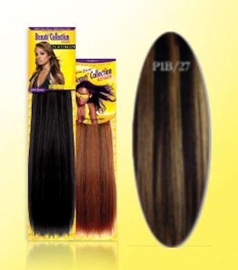 Beauti-Collection-Human-Hair-Weave-Yaki-Weave-18-P1B27-Piano-Dark-Blonde-Size-18