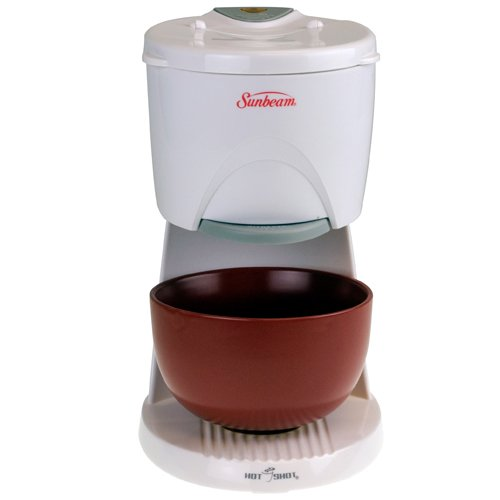 Review Of Sunbeam 6142 Hot Shot Hot Water Dispenser with Red Ceramic Bowl, White