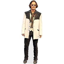 Silueta de cartón de Johnny Depp A Tamaño Real (con Chaqueta Blanca) Envío Gratuito en Reino Unido