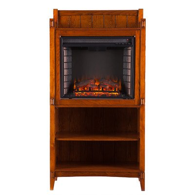 Wildon Home Folsom Electric Fireplace Tower