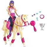 Mattel - T2705 - Poup�e - Barbie et Cheval Championpar Mattel