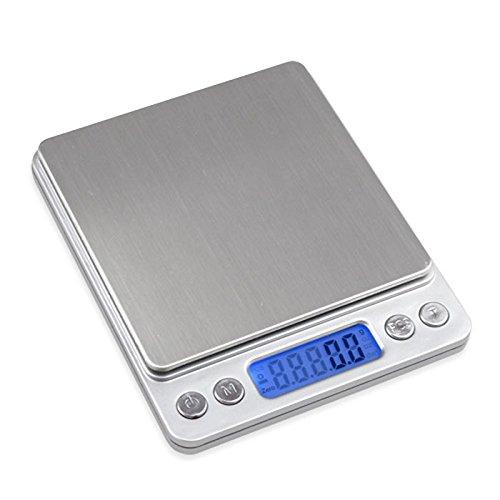 Boweike 3000g balanza b scula electr nico alta for Balanza cocina 0 1 g