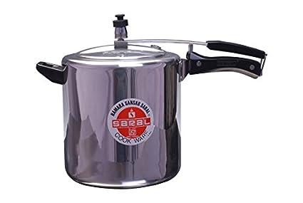 Saral-FS00000157-Aluminium-8-L-Pressure-Cooker-(Inner-Lid)