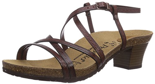 Papillio BELLA, Sandali donna, Marrone (Braun (TRIANGOLI DARK BROWN)), 42