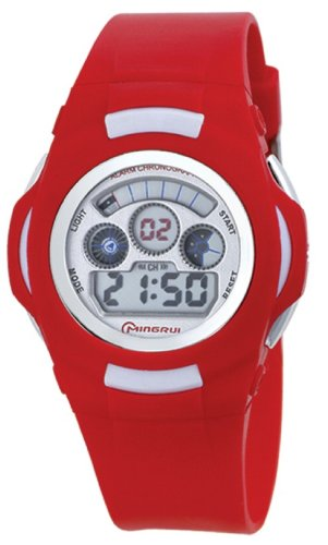 30M Water-Proof Digital Boys Girls Sport Watch With Alarm Stopwatch Chronograph Mr-8552B-1