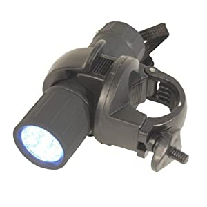 LED Universelle Lampe, 9 LEDs, 9,5cm, wassergeschützt, 360 Grad drehbar